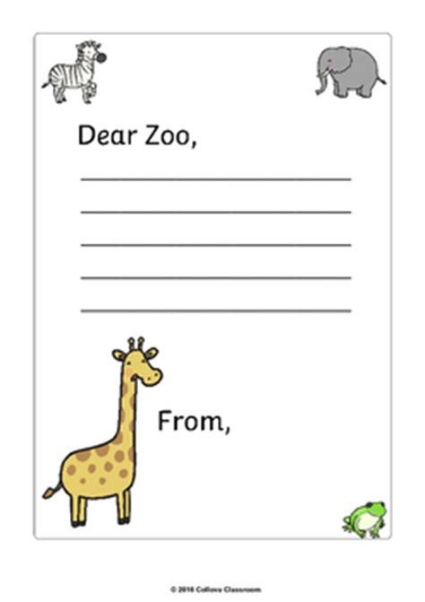 Dear Me Letter Lesson Plan