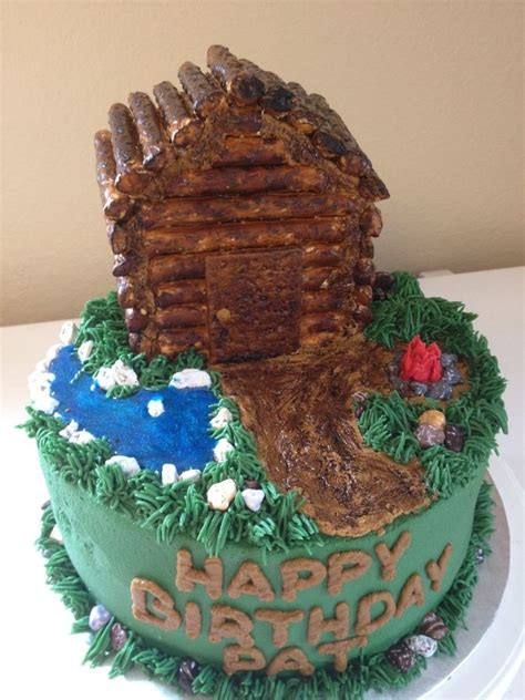 Log Cabin Cakes by 1000 Images About Nature Cakes On