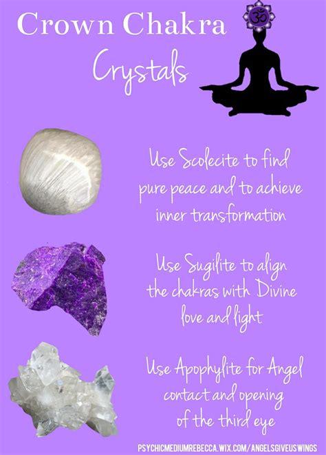 crown chakra crystals chakra crystals reiki crystals
