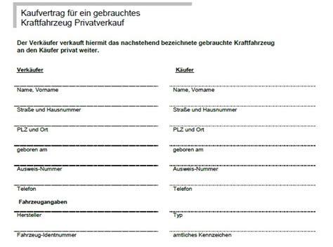 Mobile De Kaufvertrag Privat by Kaufvertrag Quad Privat Ourclipart