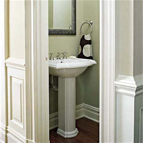 half bathroom paint ideas via the life of october 2010