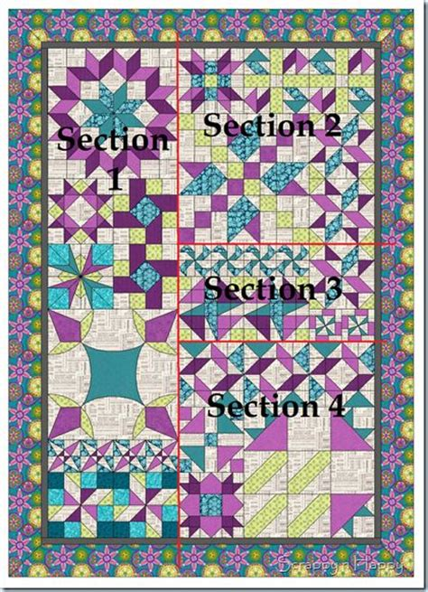 decipher your quilt putting different sized blocks