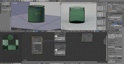 blender 3d glass tutorial nodes how to bake glass material in cycles blender