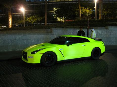 neon paint on nissan gtr nissan gtr cars and