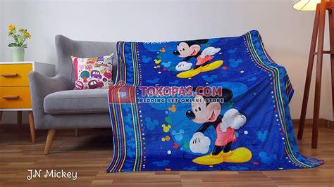 Selimut Bulu Uk 150x200cm Doraemon selimut karakter bulu lembut junior