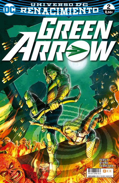 Dc Comics Green Arrow 2 green arrow vol 2 n 250 m 02 renacimiento ecc c 243 mics