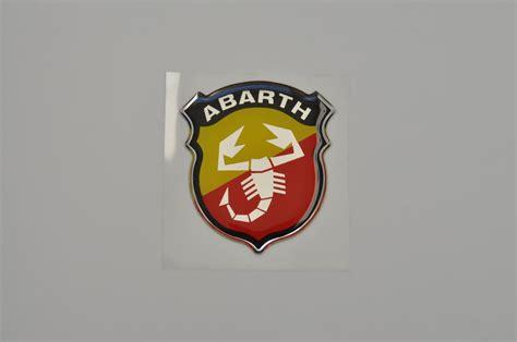 3d Aufkleber Abarth by Abarth 3d Aufkleber Fiat 124 128 131 Uno Punto Ritmo Bravo
