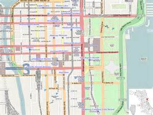 Chicago Loop Map Printable by File Chicago Loop Location Map Png