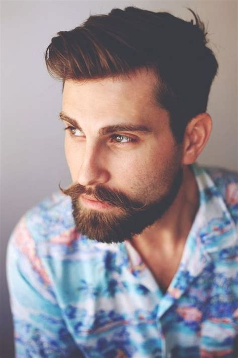 hairstyles that go with a moustache very well groomed beard grooming beard movember