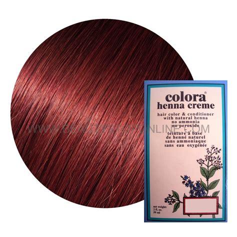 colora henna creme mahogany  oz beauty stop