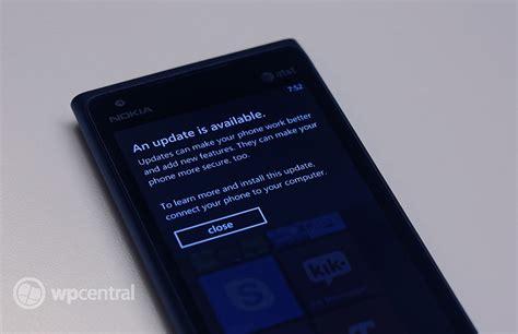 Nokia Lumia Update Nokia Lumia 900 Update Is Now Live Windows Central