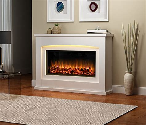 Fireplace Electric Suites by Danby Electric Fireplace Suite Glass Fronted Electric