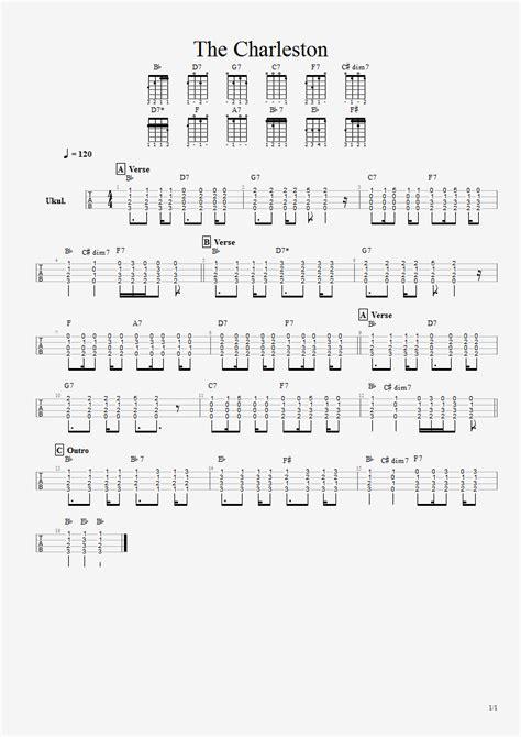 comfort eagle chords anton struyk s house of blog ukulele tabs the charleston