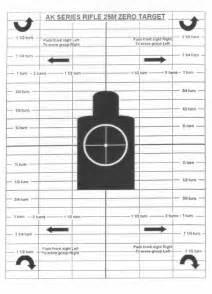 Printable Ak Zero Targets | printable m4 zeroing target newhairstylesformen2014 com