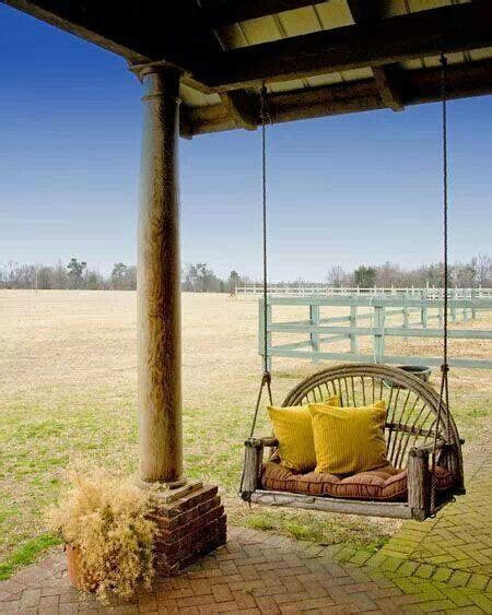 country porch swings country porch swing patio lawn ideas pinterest