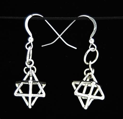 Misca Necklace i connect metaforms store tetrahedron earrings silver