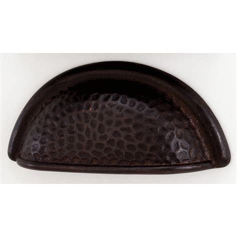 hammered bronze cabinet knobs hammered dark bronze cup pull knobs n knockers
