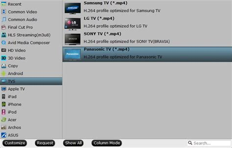 format audio tv samsung panasonic won t play iso files from usb