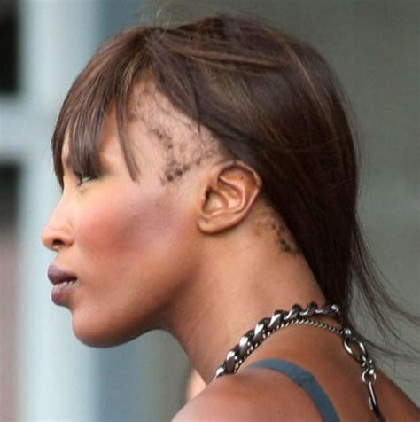 wigs for bald spots naomi cbell reveals shocking bald patch under wig