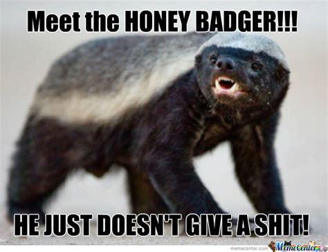 Meme Honey Badger - honey badger by davidt2580 meme center