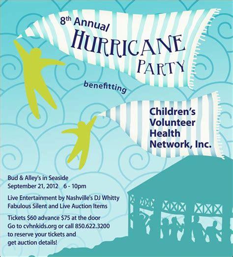 hurricane party hurricane party benefitting children s volunteer health