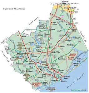 map of brazoria county brazoria county the handbook of