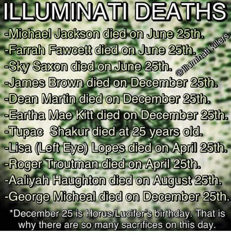 illuminati deaths illuminati deaths michael jackson died on june 25th farrah