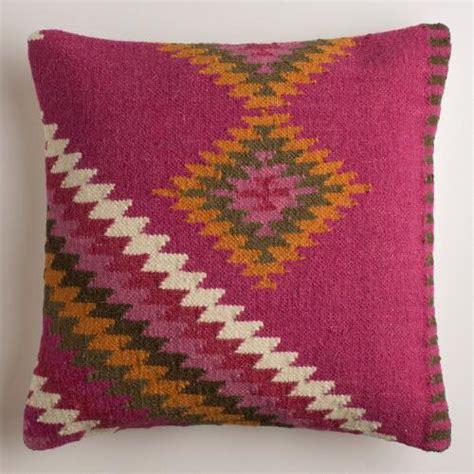 Magenta Throw Pillow by Magenta Montesilvano Wool Throw Pillow World Market