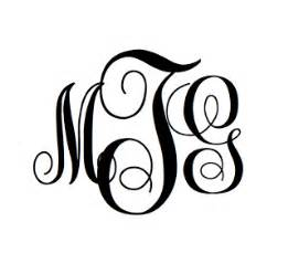 Free Monogram Templates Monogramsbym Free Monogram Font