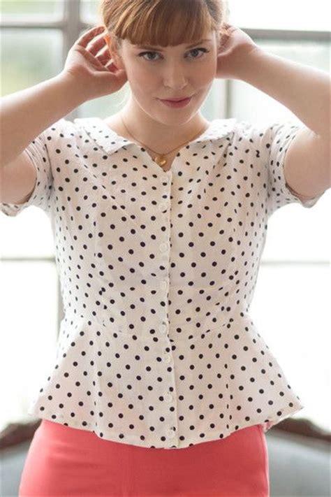 Blouse Pattern colette patterns hawthorn shirtdress and peplum blouse sewing pattern