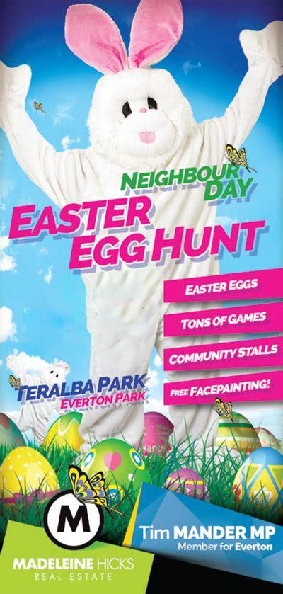 easter egg hunt madeleine hicks real estate brisbane