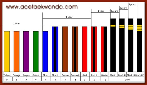 belt colors in karate sports recreation taekwondo belt colors