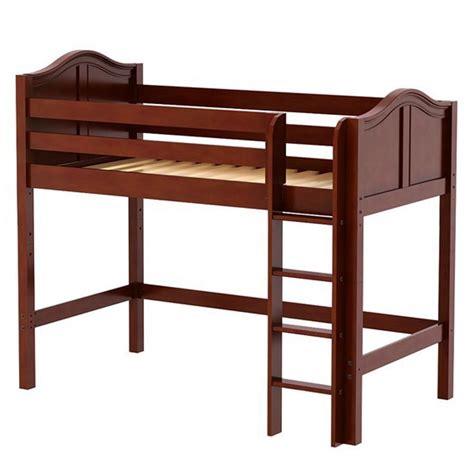 bunk bed height uye home mid height loft bed