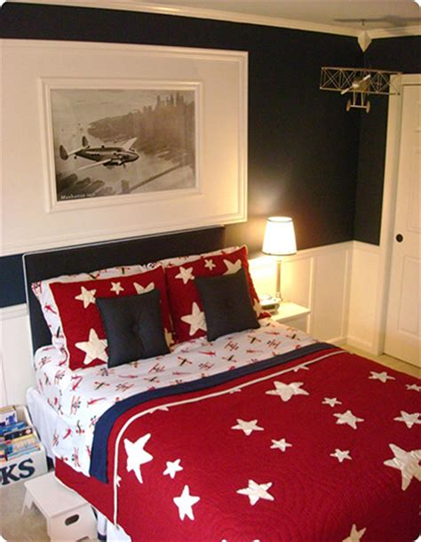 airplane bedroom decor planes inspired boy bedrooms