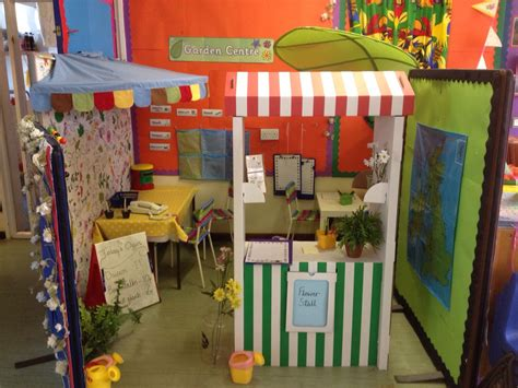 garden centre reception role play area dramatic play