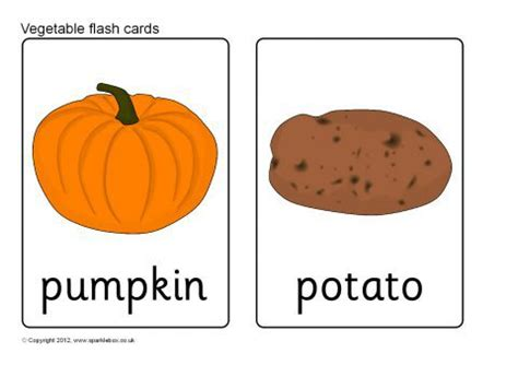 vegetable flashcards printable vegetables flash cards sb8202 sparklebox