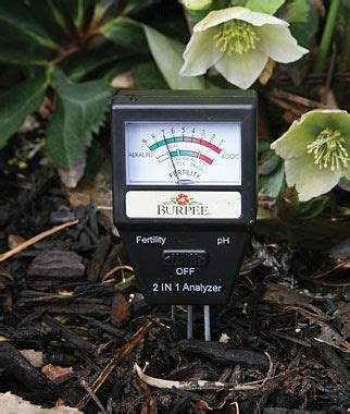 electronic soil tester gardening supplies and garden tools at burpee com