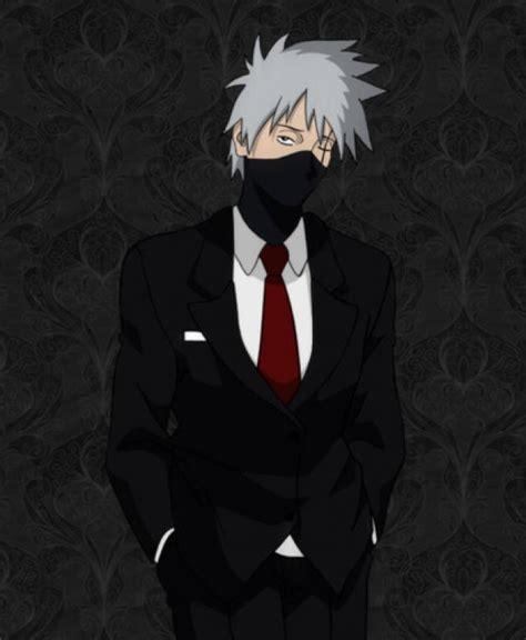 imagenes de anime vestidos lista chicos de anime con terno traje