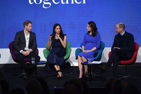 Prince William, Catherine, Prince Harry, and Meghan Markle