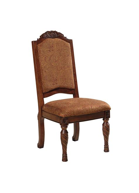 North Shore Upholstered Side Chair Set Of 2 D553 02 Dining Chairs Outlet