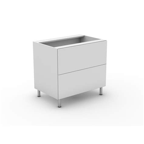 Flat Pack Kitchen Drawers by 2 Pot Drawers Integrated Handles