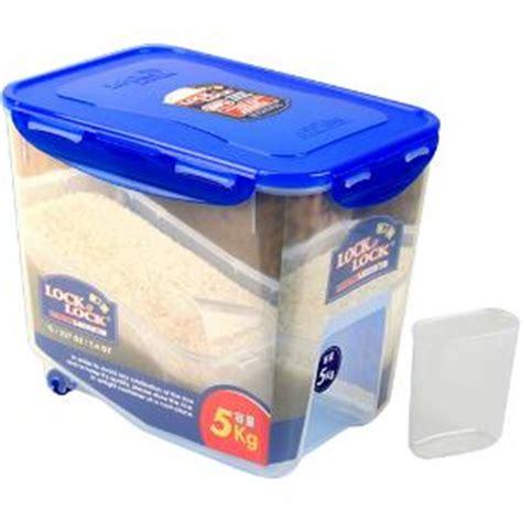 Rice Cooker Lock N Lock accessories utility tupperware 10 kg rice flour