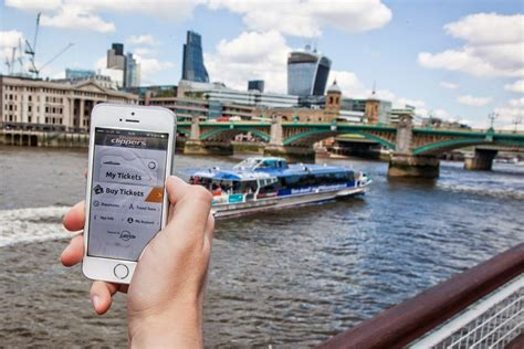 thames clipper return ticket thames clippers goes live with mobile ticketing