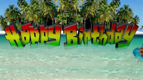 Of The Caribbean Birthday Card