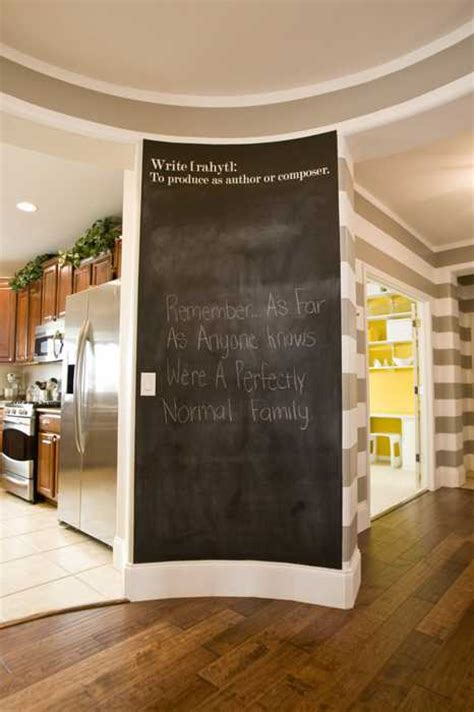 Chalkboard Paint Ideas Kitchen Creative Interior Decorating Ideas 26 Black Chalkboard Paint Projects