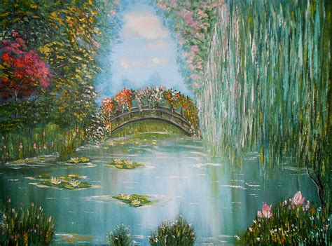 painting impressionism modern large original original modern painting in style impressionism on