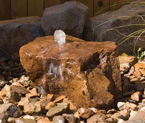bubbling rock fountains truckee landscape pinterest