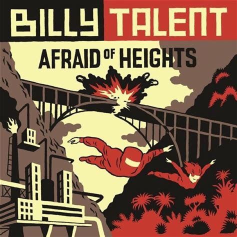 best billy talent album billy talent announce afraid of heights lp title