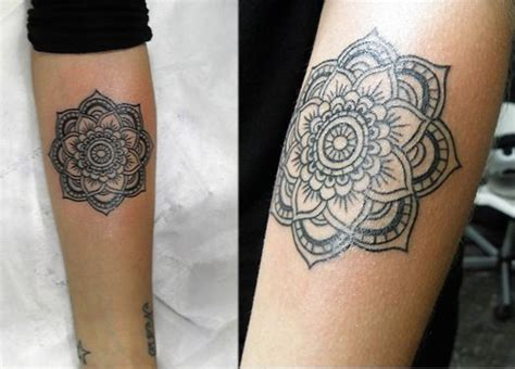 tattoo mandala panturrilha pinterest le catalogue d id 233 es