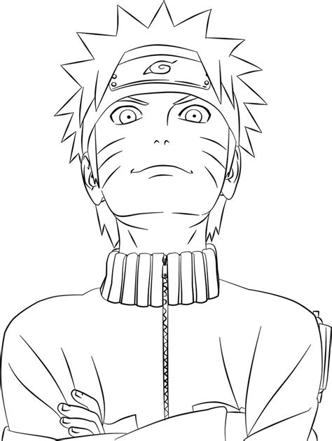 printable naruto coloring pages coloring pages